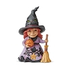 2019 Friendly Witch Figurine - Jim Shore Heartwood Creek