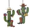 Western Cactus Set of 2 - Kurt Adler Ornament