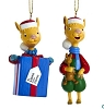 2020 Llama Llama - set of 2 Kurt Adler Ornaments