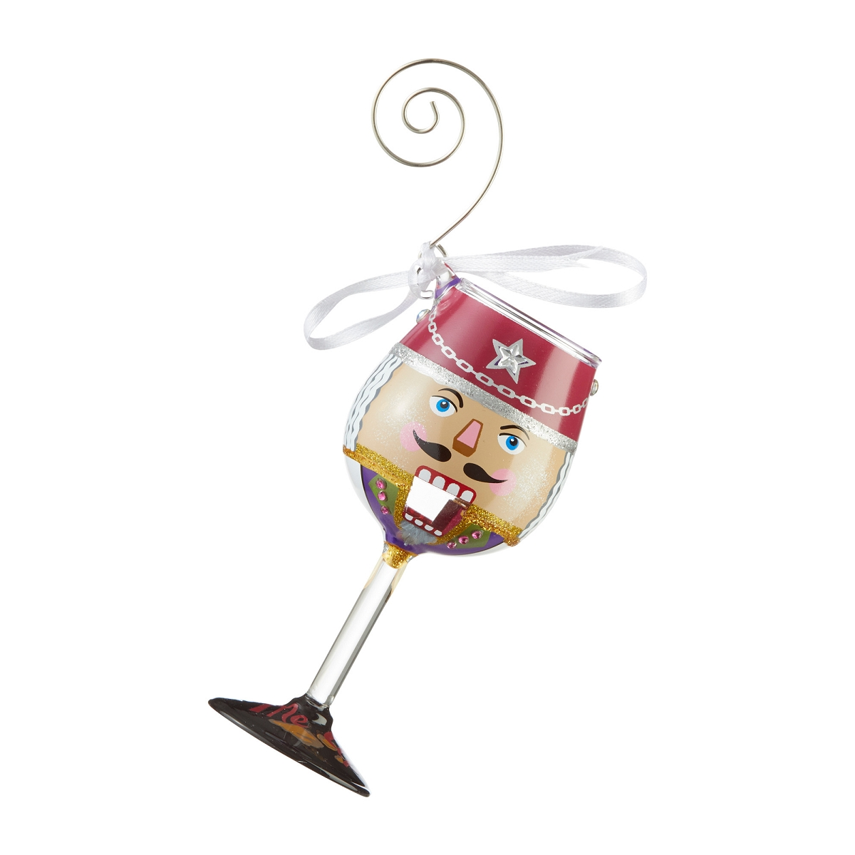 Lolita Mini Wine Glass Ornament - You Crack Me Up