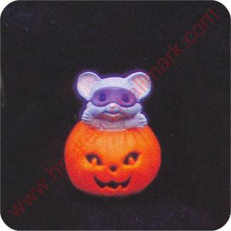1988 Mouse in Pumpkin - Merry Miniature