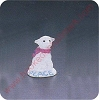 1991 Snow Lamb - Merry Miniature