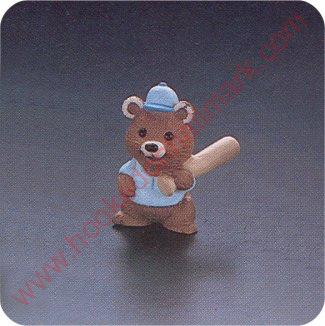 1991 Baseball Bear - Merry Miniature