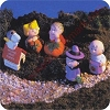 1996 Peanuts Pumpkin Patch - Merry Miniature Set of 5