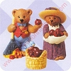 1997 Apple Harvest, Mary's Bears - Merry Miniatures