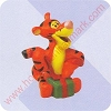 1999 MM - Tigger - Christmas at Poohs -  Merry Miniature
