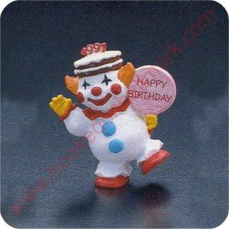 1991 Birthday Clown - Merry Miniature