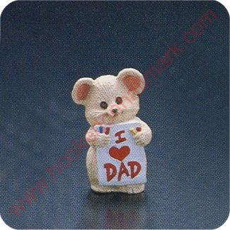 1991 I Love Dad - Merry Miniature