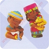1996 Penda Kids - Merry Miniature Figurines