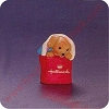 1994 Happy Collecting Puppy in Tote Bag - Merry Miniature