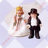 1998 Madame Alexander Bride and Groom - Merry Miniature