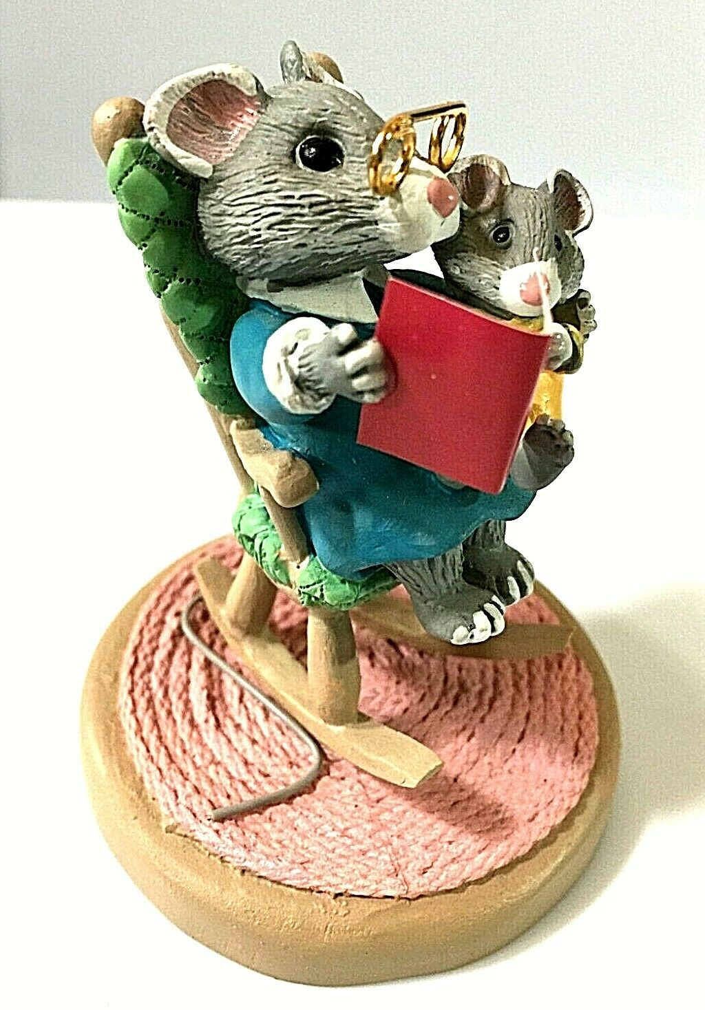 Mice in Rocking Chair - Tender Touches Figurine