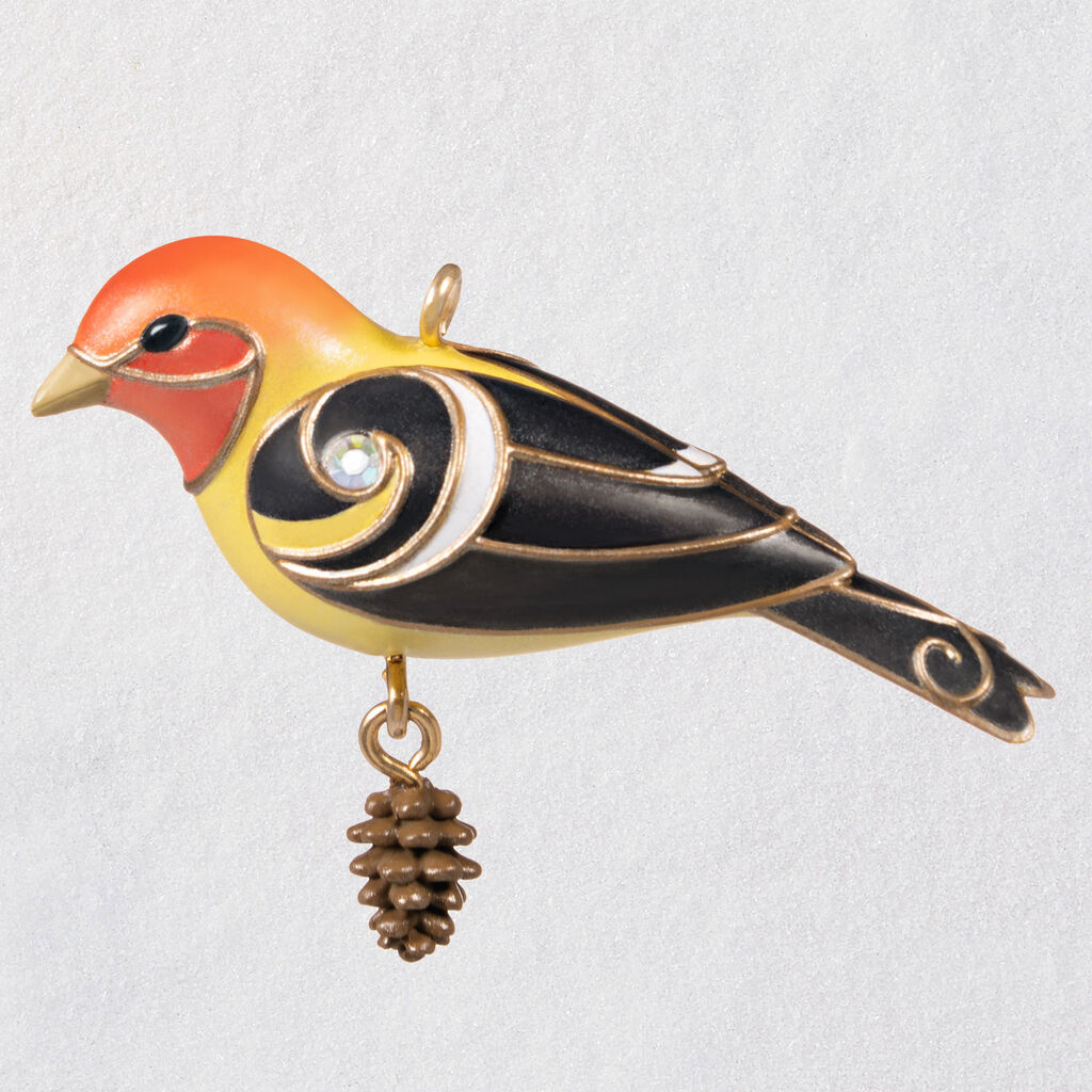 2020 Beauty of Birds MINIATURE - Western Tanager
