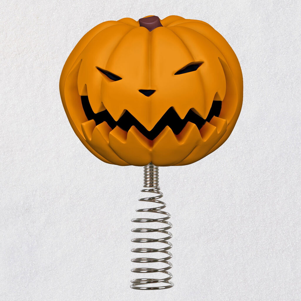 2020 Hallmark Pumpkin King Tree Topper Nightmare Before Christmas At Hooked On Ornaments