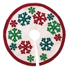 2020 Miniature Snowflake Tree Skirt