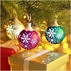 Illuminations - Snowflake Snowballs - set of 3