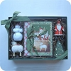 2002 Marjolein Bastin Ornament Set with Booklet - Rare