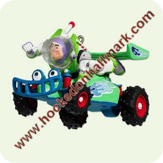 2005 Buzz Lightyear and RC Racer -DB