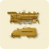 2007 Lionel Steam Locomotive & Tender REPAINT - MINIATURE