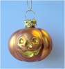 2002 Halloween, Blown Glass Pumpkin