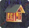 1985 Little Red Schoolhouse - Lighted - DB