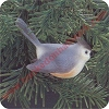 1985 Porcelain Bird - Tutfted Titmouse
