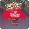 1987 First Christmas Together, Raccoons - MIB