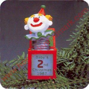 1987 Babys Second Christmas - DB