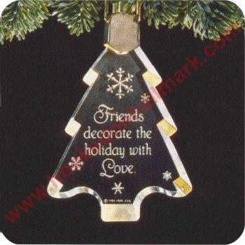 1988 Tree Of Friendship - lighted - DB