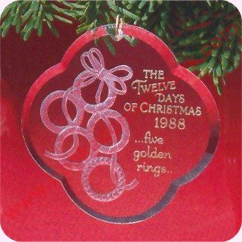 1988 Twelve Days of Christmas #5 - Five Golden Rings