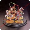 1989 Christmas Carousel Display Stand