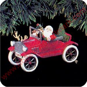 1991 Here Comes Santa #13 - Santa's Antique Car