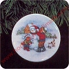 1991 Collectors Plate #5 - Let it Snow !