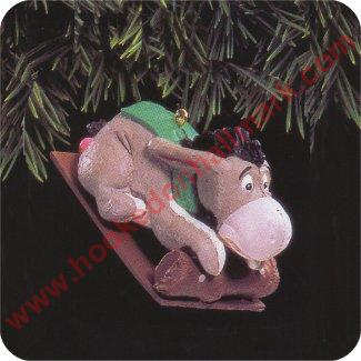 1993 Eeyore on Toboggan