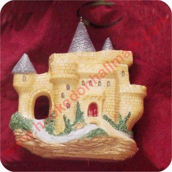 1995 Invitation to Tea, European Castle Teapot