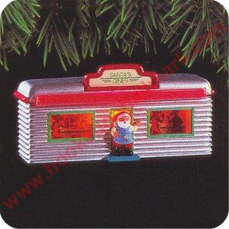 1995 Santas Diner, Lighted