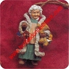 1996 Folk Art Mrs Claus