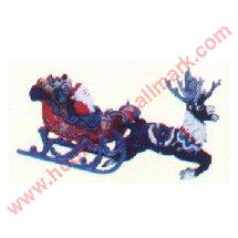 1997 Santas Magical Sleigh RARE REPAINT - Only 100 Produced