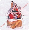 1998 Santas Merry Workshop, Musical Tabletop - SDB