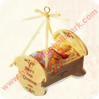 1999 Baby S First Christmas Hallmark Ornament