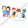 1999 Snow Days, Peanuts set of 2