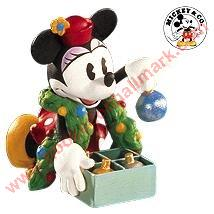 1999 Hallmark Archives #3 - Minnie Trims the Tree