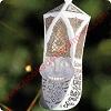 "Hallmark /""Ringing In Christmas/"" Laser Gallery Ornament 1999"