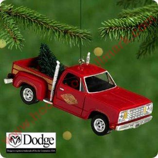 2000 All American Trucks 6 1978 Dodge L Il Red Express
