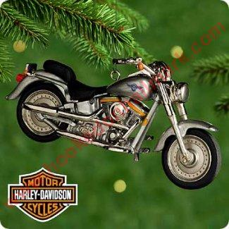 Harley Davidson Christmas Lights