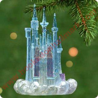2001 Cinderellas Castle Hallmark Ornament