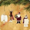 2002 Santa and His Sweetest Friends - set of 4