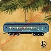 2002 Lionel Blue Comet Passenger Car - LIGHTED