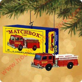 2002 29-C Fire Pumper, Matchbox
