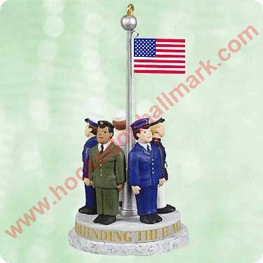 2003 Defending the Flag - flag raises/lowers